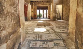 Photo d'une villa de Pompéi