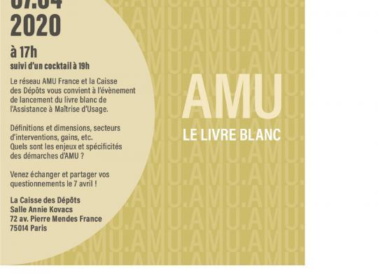 Save the date 7 avril 2020 livre blanc de l'AMU